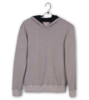 Product gri sweatshirt on mock e
