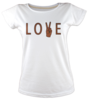 Love peace tisort kadin tshirt on3