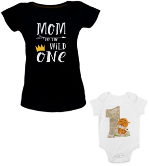 Mom and Son Birthday Party T-shirts