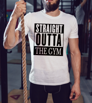 Straight Outta Gym Tişört