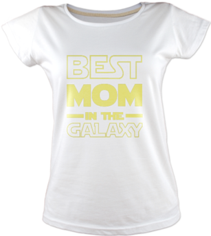 Best Mom In The Galaxy Tişört