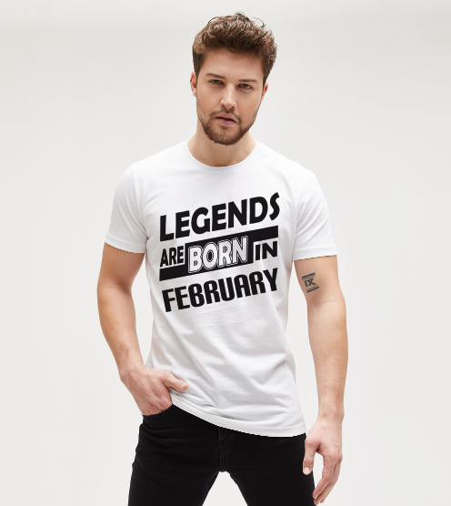 Legends-are-born-in-february-tisort-erkek-tshirt-tasarla-on3