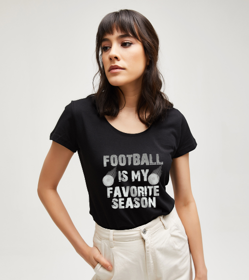Football-is-my-favorite-season-tisort-kadin-tshirt-tasarla-on3