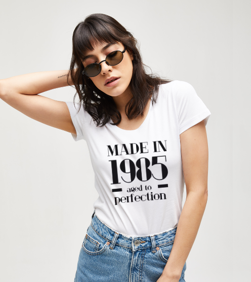 Aged-to-perfection-beyaz-kadin-tisort-kadin-tshirt-tasarla-on3