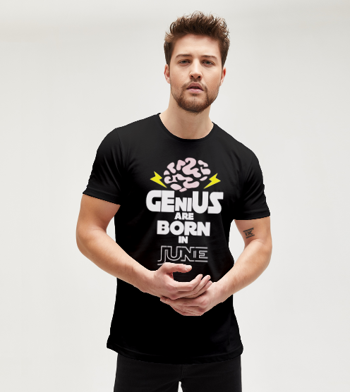 Genius-are-born-in-june-tisort-erkek-tshirt-tasarla-on3