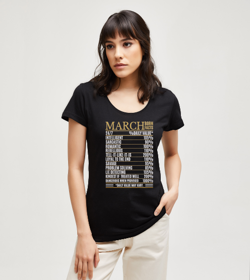 March-born-facts-tisort-kadin-tshirt-tasarla-on3