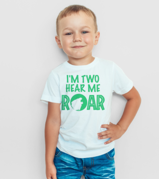 2 years old Child Lion T-shirt