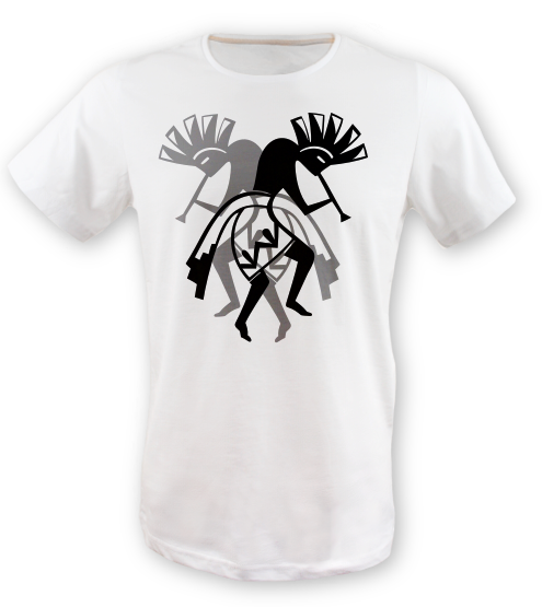 Kokopelli-tisort erkek-tshirt on3