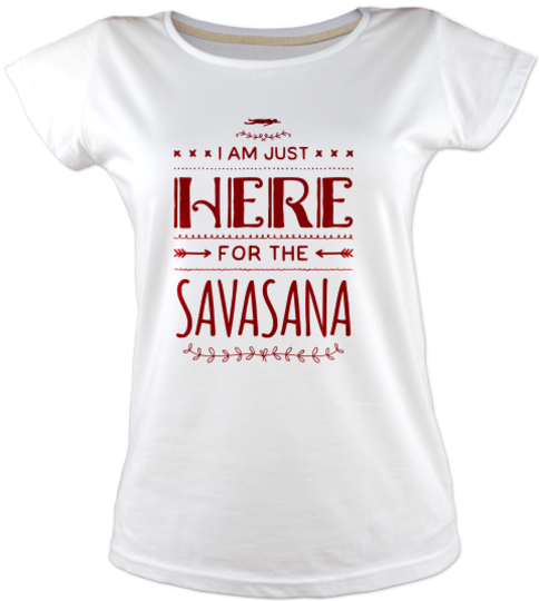 Savasana-yoga-tisort kadin-tshirt on3